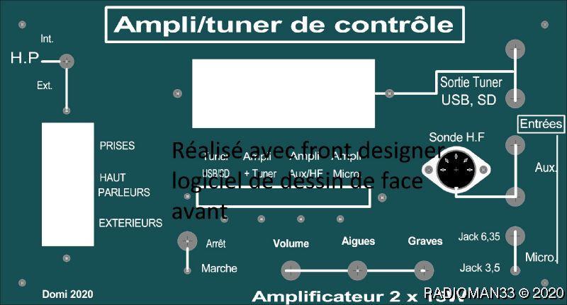 Ampli de controle clavier6tag