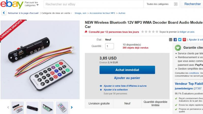 Bluetooth module 1