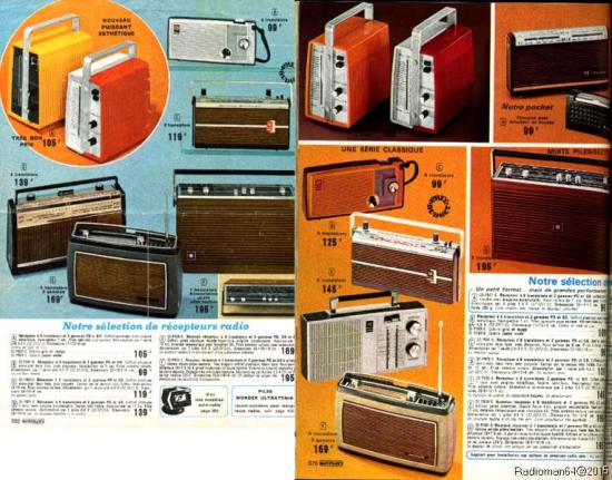 Catalogue 1972 1973 pages radio