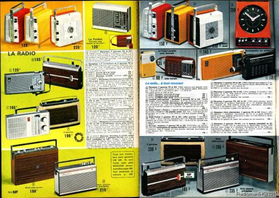 Catalogue 1974 1975 pages radio