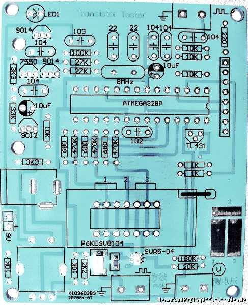 Circuit imprime inv
