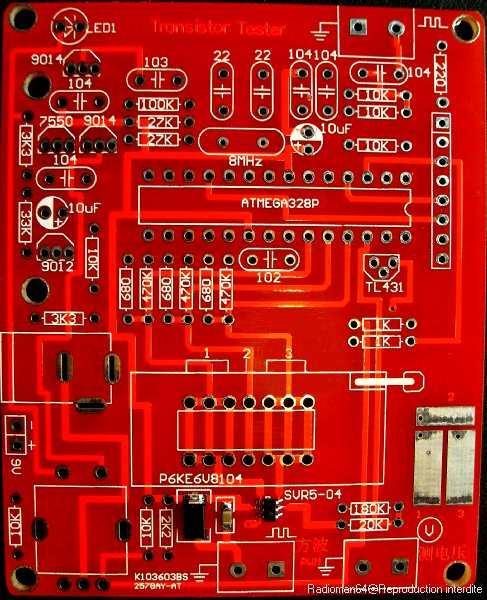 Circuit imprime ret
