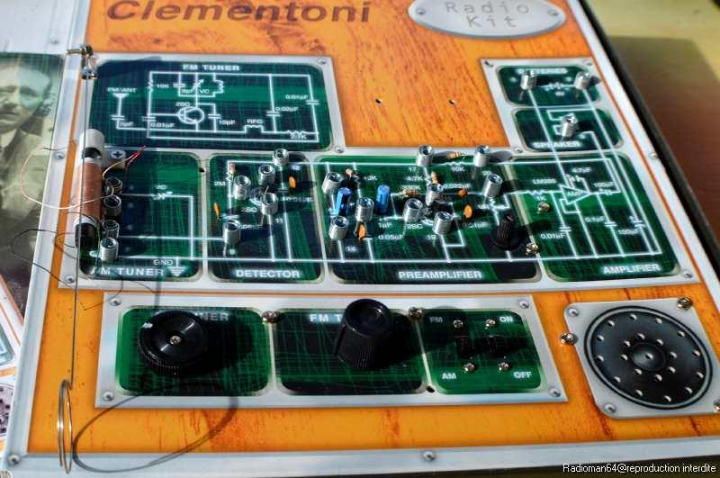 kit radio clementoni