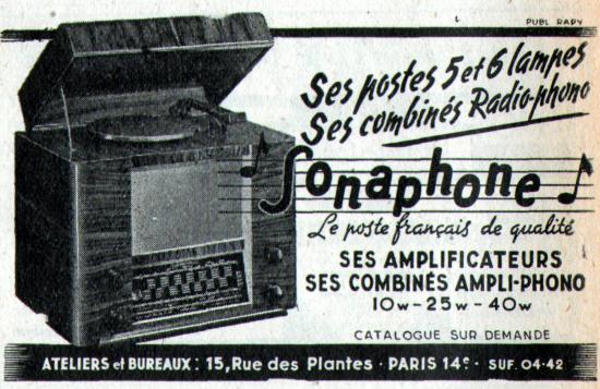 Publicite 1948